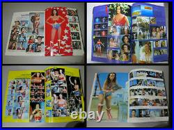 1981 COMPLETE VISUAL GUIDE BOOK OF WONDER WOMAN LYNDA CARTER WithPOSTER RARE