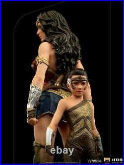 1/10 Iron Studios Wonder Woman&Young Diana WW84 Collectible Statue Doll