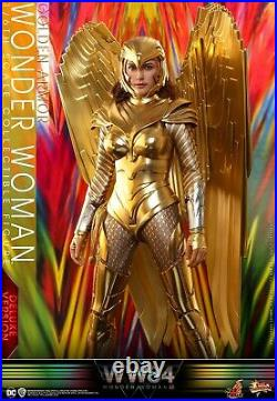 1/6 Wonder Woman Golden Armor Hot Toys MMS578 Deluxe Ver. Aaction Figure Collect