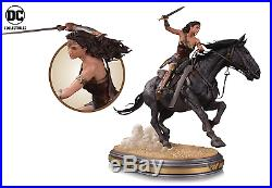 2017 DC Collectibles Movie Wonder Woman On Horseback Deluxe Statue (in Hand)