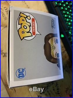 #206 Wonder Woman Funko Pop! Gold 180 Limited Ed. Exclusive New Justice League