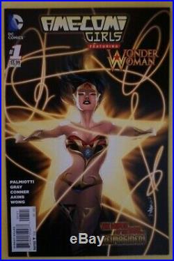 Ame-Comi Girls featuring Wonder Woman #1 (125 variant)