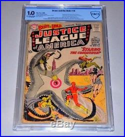 Brave and the Bold 28 CBCS 1.0 1st Justice League Of America CGC Wonder Woman