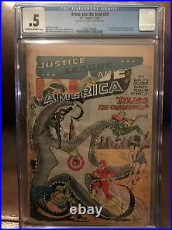 Brave and the Bold 28 CGC. 5 1st Justice League & Starro
