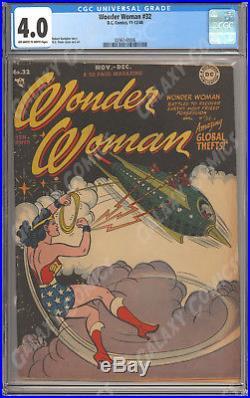 CGC 4.0 Wonder Woman #32 (1942) Golden Age Goodness
