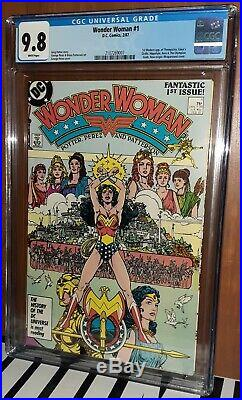 CGC 9.8 Wonder Woman 1. First (1st) Appearance of the Amazons of Themyscira 1987