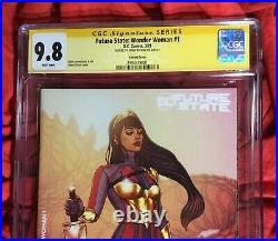 CGC SS 9.8FUTURE STATE WONDER WOMAN #1SIGNED FRISON1st APPEARANCE YARA FLOR