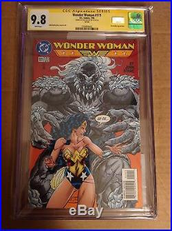 CGC SS 9.8 Wonder Woman #111 signed by film star Gal Gadot Justice League movie