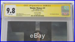 CGC SS Graded 9.8 Wonder Woman #31 (2017), Conv. Edition, Signed Gal Gadot