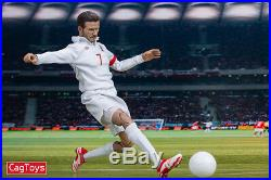 Cagtoys 1/6 Football Star David Beckham Male Action Figure Collectible