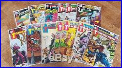 Collection of 45 DC comics Tales of the Unexpected, Teen Titans, Wonder Woman
