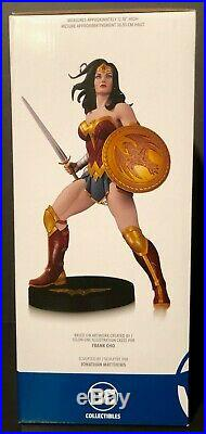DC Collectibles DC Designer Series WONDER WOMAN by Frank Cho Statue 0613 of 5000