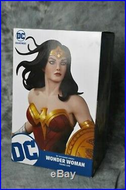 DC Collectibles Designer Series Frank Cho WONDER WOMAN Statue NEW in Box
