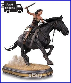 DC Collectibles Wonder Woman on horseback Deluxe Statue