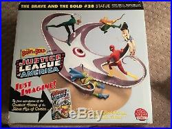 DC Comics Brave and the Bold #28 Statue Justice League, Flash, Wonder Woman