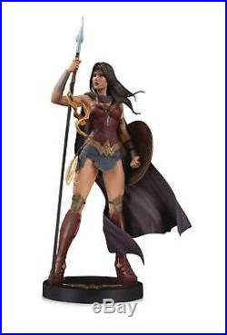DC Designer Series Wonder Woman By Jenny Frison 15 inch Statue
