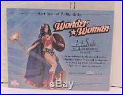 DC Direct Wonder Woman 14 Scale Museum Quality Statue Limited Edition 20/1400