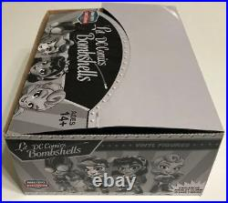 DC LIL' BOMBSHELLS HARLEY QUINN Black / White SKETCH FAN EXPO EXCLUSIVE Figure