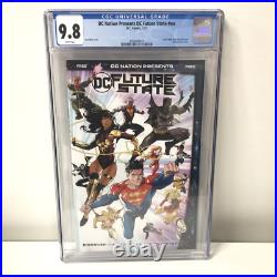 DC Nation Presents DC Future State CGC 9.8 One Per Store LCSD 1st Yara Flor Cove