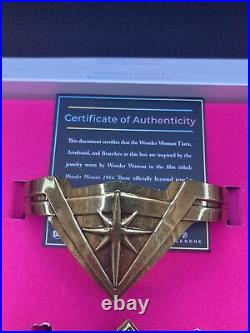 DC Wonder Woman 1984 Limited Edition Jewelery Replica Set LE 4200 SHIPS TODAY