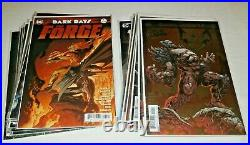 Dark Nights Metal #1-6 & tie-ins (set of 18) Forge Casting Batman Who Laughs +