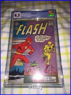 FLASH #139 CGC 4.5 VG+ OW DC Comics 1st appearance Reverse Flash 1963