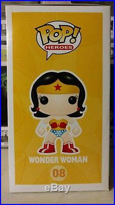 Funko Pop Wonder Woman 2014 NYCC Toy Tokyo Exclusive LE 240 Black and White 08