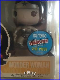 Funko Pop Wonder Woman NYCC Limited To 240 (Black&White)