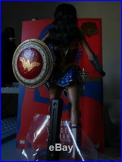 Hot Toys Collectible Wonder Woman (Comic Concept Version) 11in. Figurine