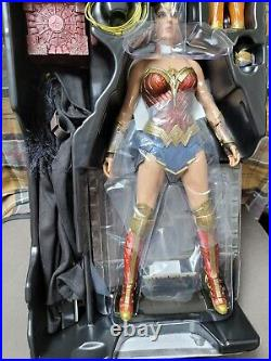 Hot Toys DC Justice League Movie Wonder Woman deluxe Collectible Figure MMS451