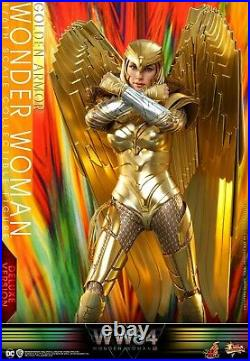 Hot Toys HT 1/6 MMS578 Golden Armor 5.0 Wonder Woman Collectible 12'' Figure