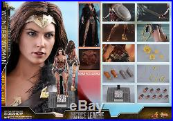 Hot Toys Justice League Wonder Woman 1/6 Scale Deluxe Figure MMS451