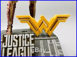 Hot Toys MMS451 Justice League WONDER WOMAN DELUXE + LOGO (DC)