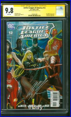 Justice League 12 CGC SS 9.8 Alex Ross Connecting Wonder Woman 2 Cover Set 10/07