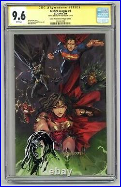Justice League #1 CGCSS 9.6 Remarked & Signed Kael Ngu Exclusive