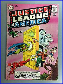 Justice League Of America (1961) #2 The Flash Green Lantern Wonder Woman Aquaman