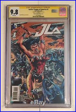 Justice League Of America #1 Wonder Woman Variant Cgc Ss 9.8 Gal Gadot