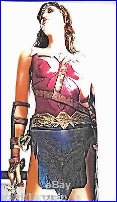 LIFE SIZE WONDER WOMAN statue figure Batman v Superman Dawn of Justice HOTnSEXY