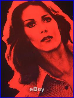 LYNDA CARTER WONDER WOMAN. VERY RARE ORIGINAL TOUR POSTER