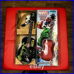 Marvel STAN LEE Signed HULK Half Acoustic Guitar Collectors Collectable