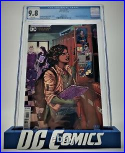 Naomi #1, CGC 9.8 2019 White Pages Variant Cover Emanuela Lupacchino First App