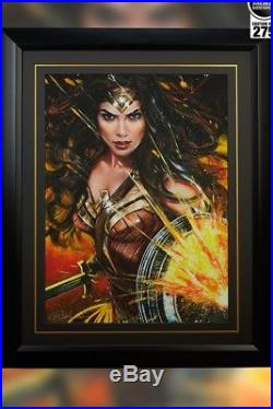 Olivia SIGNED Exclusive Sideshow Wonder Woman. OLIVIA DE. BERARDINIS SOLD OUT