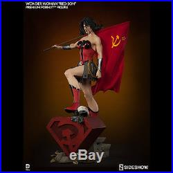 SIDESHOW Wonder Woman Red Son Premium Format Figure Statue NEW SEALED