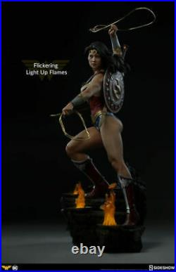 Sideshow 1/4 Wonder Woman Resin 300664 Female Figure Statue Collectible