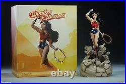 Sideshow Collectibles DC Comics WONDER WOMAN Animated Statue LOW #! #8/800 NEW