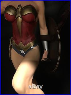 Sideshow Collectibles Wonder Woman Exclusive Premium Format Pf Statue MIB
