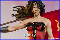 Sideshow Collectibles Wonder Woman Red Son Premium Format Figure 186/1250