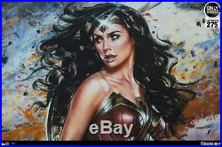 Sideshow WONDER WOMAN Art Print by Olivia De Berardinis Limited to 275 Sold Out