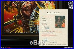 Sideshow Wonder Woman Framed Art Print by Ozone Productions EXCLUSIVE SOLD OUT