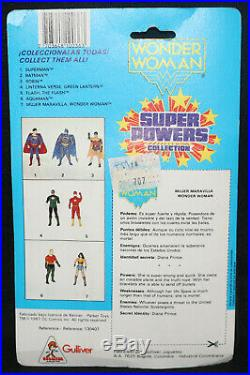 Super Powers Collection DC Action Figure Kenner Wonder Woman (C-5) Spanish 1987